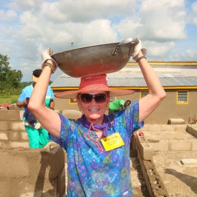 Wanda Smith hard at work day 3